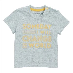 """New! Robeez """"Someday I Will Change the World"""" Tee"""